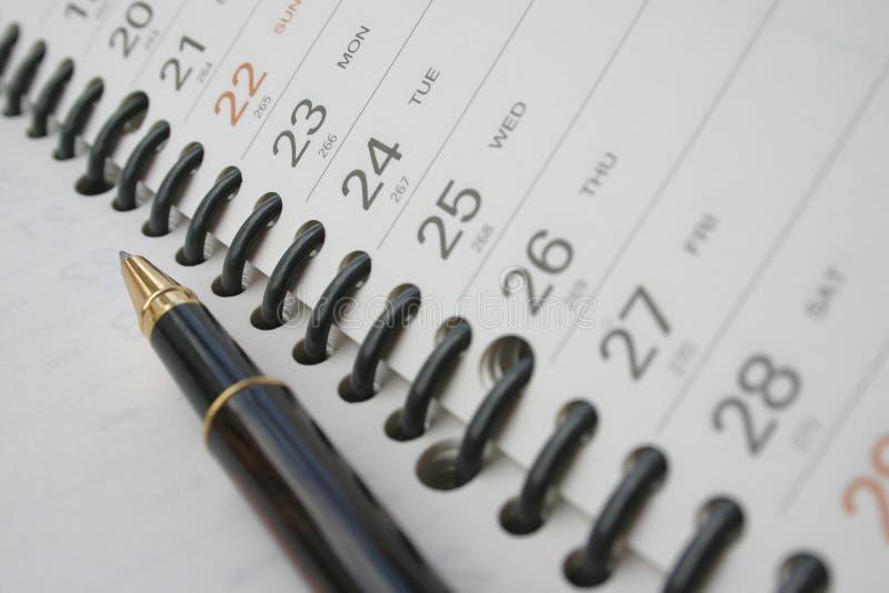 Download Dagbokpennplanläggning fotografering för bildbyråer. Bild av kommunikationer - 25073
