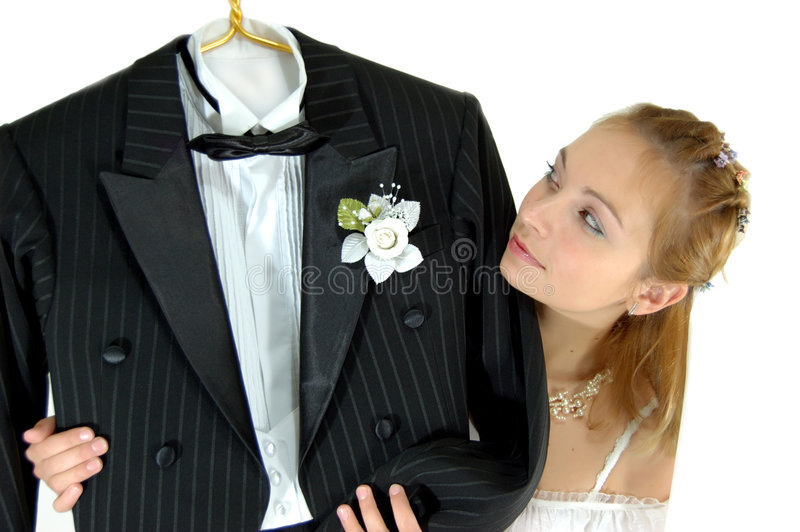dagbröllop arkivfoto