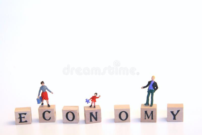 Dagelijkse economie royalty-vrije stock fotografie