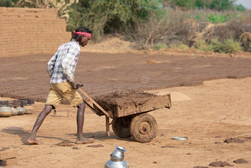 Dagelijkse loonarbeider stock foto's