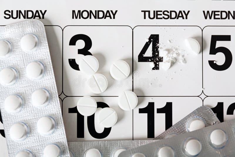 Dagen van ontvangst van tabletten royalty-vrije stock afbeeldingen