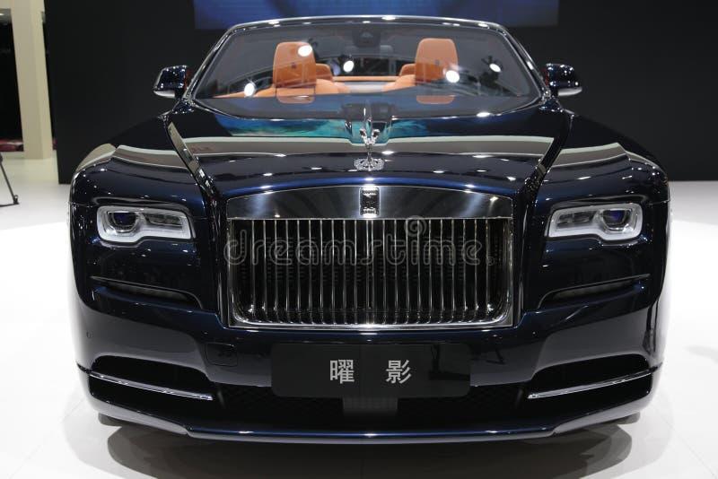 Dageraad van Rolls Royce royalty-vrije stock afbeeldingen
