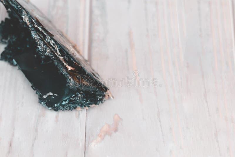 Daglicht De telefoon is beschadigd wegens brand in is er geen schade heb het stemmen stock foto's