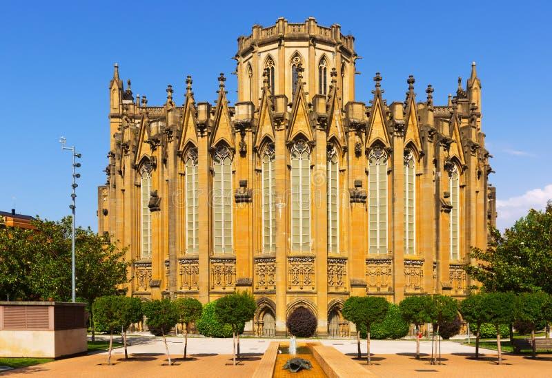 Dagmening van Kathedraal van Mary Immaculate royalty-vrije stock fotografie