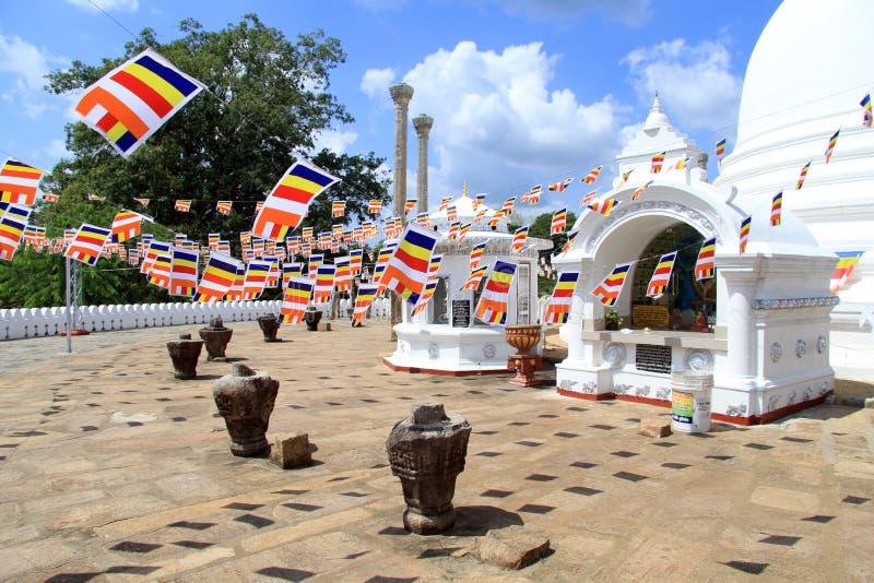 Dagoba de Thuparamaya fotos de archivo libres de regalías