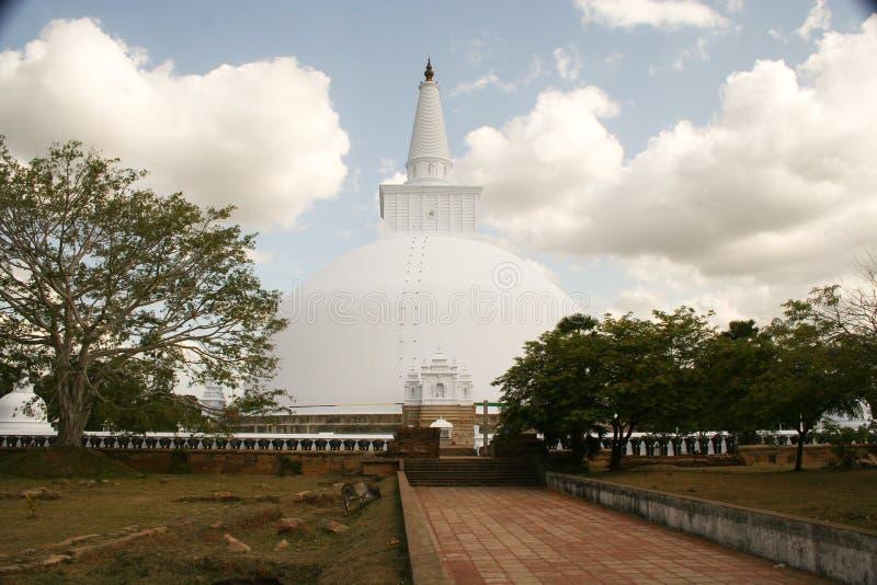 Dagoba, pagoda y templo fotos de archivo libres de regalías
