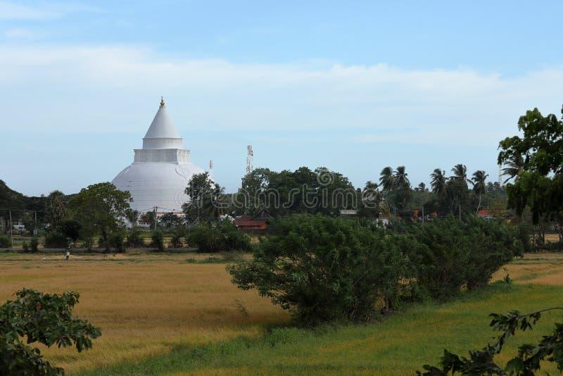 Dagoba Tissamaharama w Sri Lanka obrazy stock