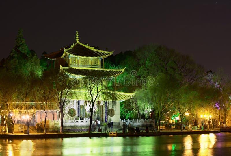 Download Daguan Buddyjska Chińska świątynia Lou Obraz Stock - Obraz złożonej z buddhist, sanktuarium: 13337225