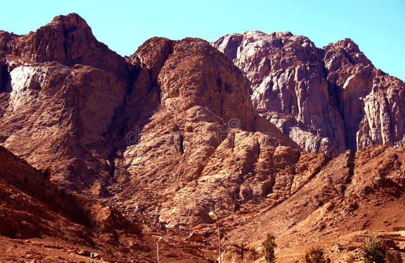 Dahab mountains royalty free stock image