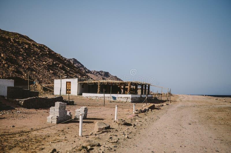 Dahab-Stadt in Ägypten stockfotos