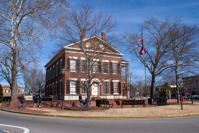 Download Dahlonega Gold Museum In Lumpkin County Courthouse Editorial Stock Photo - Image: 18401343