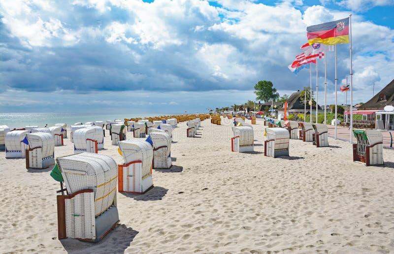 Dahme baltiskt hav, Schleswig-Holstein, Tyskland arkivbild