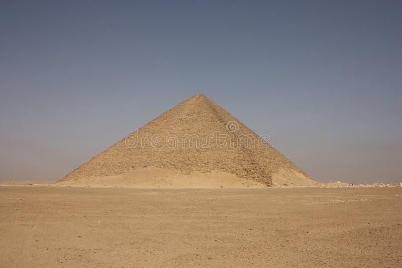 dahshurpyramidred fotografering för bildbyråer