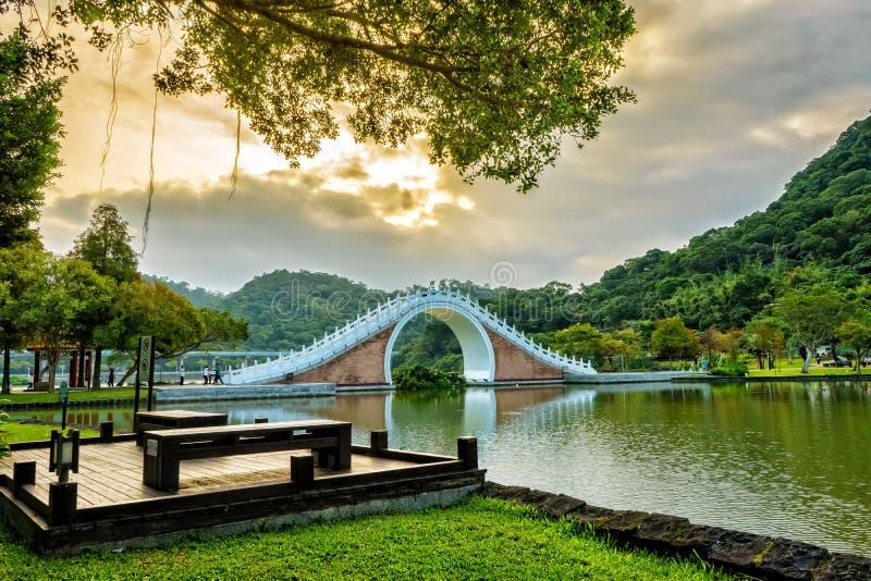 Dahu park in taiwan stock photography