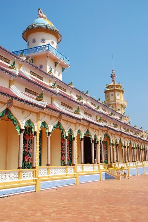 Dai świątynia cao. fotografia royalty free