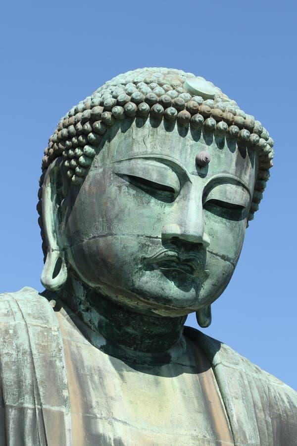 Daibutsu,伟大的菩萨雕象,日本 库存图片