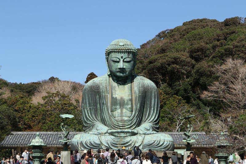 Daibutsu,伟大的菩萨雕象,日本 免版税库存照片