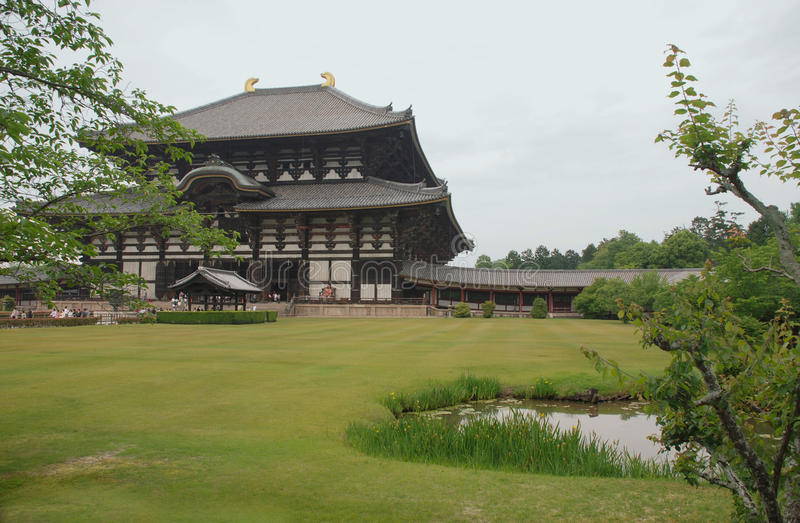 Daibutsu-Den Hall stock images