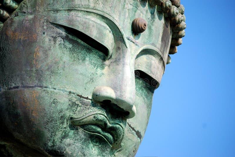 Daibutsu 'gigante Buda' imagen de archivo