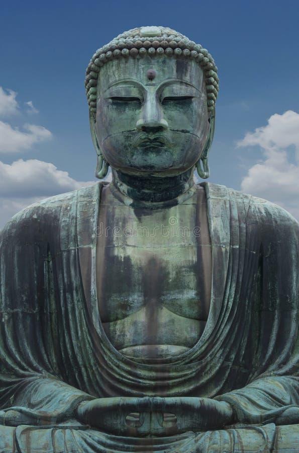 Daibutsu, gran escultura de Buda es la señal de Tokio, Japón fotos de archivo libres de regalías