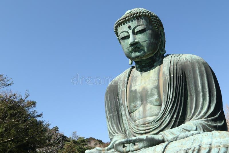 Daibutsu, gran estatua de Buda, Japón fotografía de archivo libre de regalías