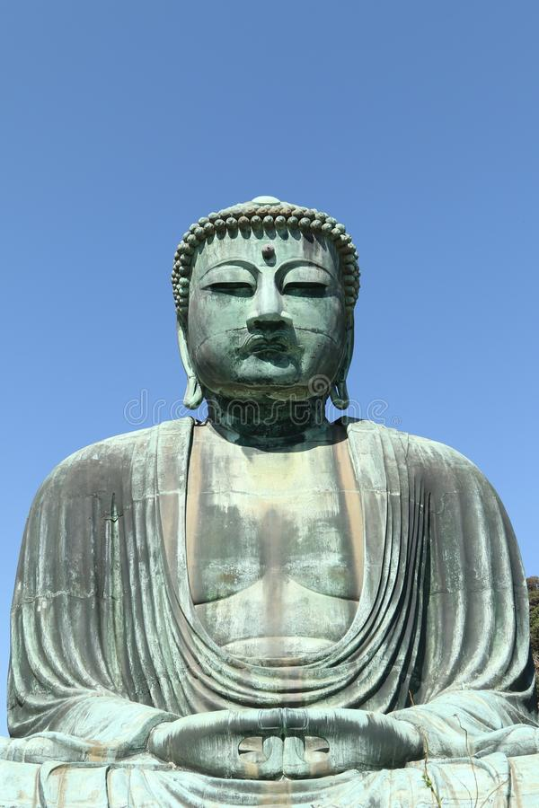 Daibutsu, gran estatua de Buda, Japón fotos de archivo libres de regalías