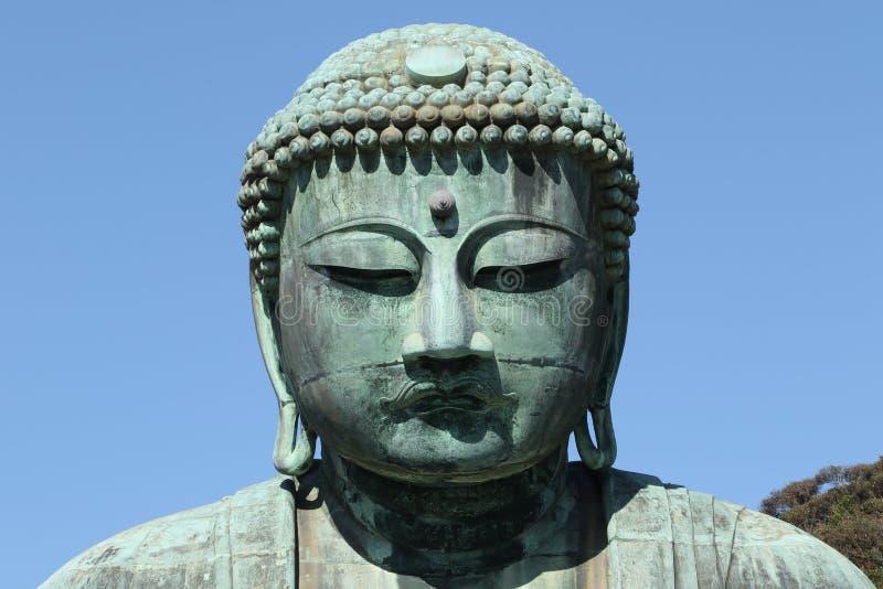 Daibutsu, gran estatua de Buda, Japón foto de archivo libre de regalías