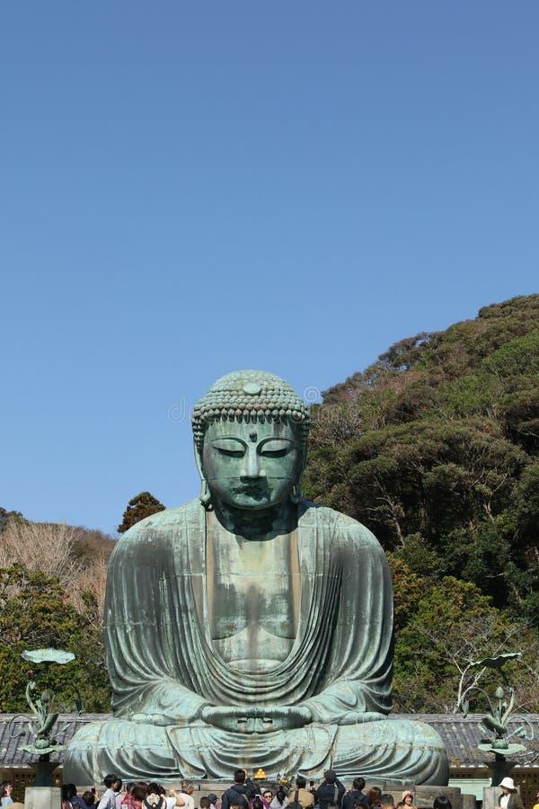 Daibutsu, grande statua di Buddha, Giappone immagine stock