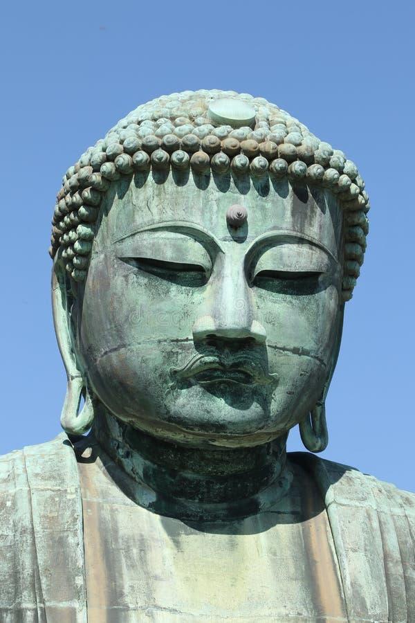 Daibutsu, het Grote standbeeld van Boedha, Japan royalty-vrije stock fotografie