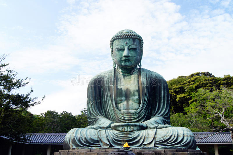 daibutsu kamakura royaltyfri bild