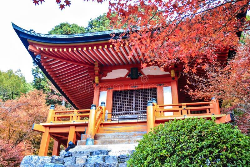 Daigo-ji jest Shingon Buddyjskim świątynią w Fushimi-ku zdjęcie stock
