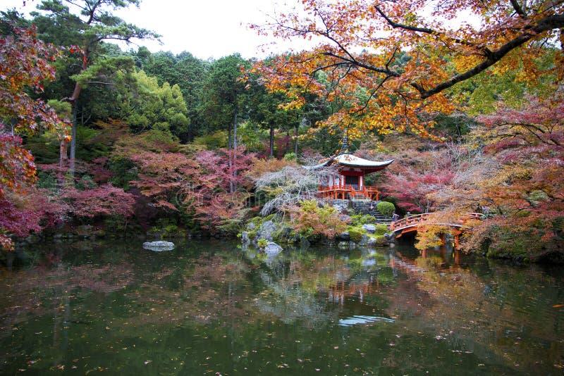 Daigo Ji, Kyoto, Japan stockfotos