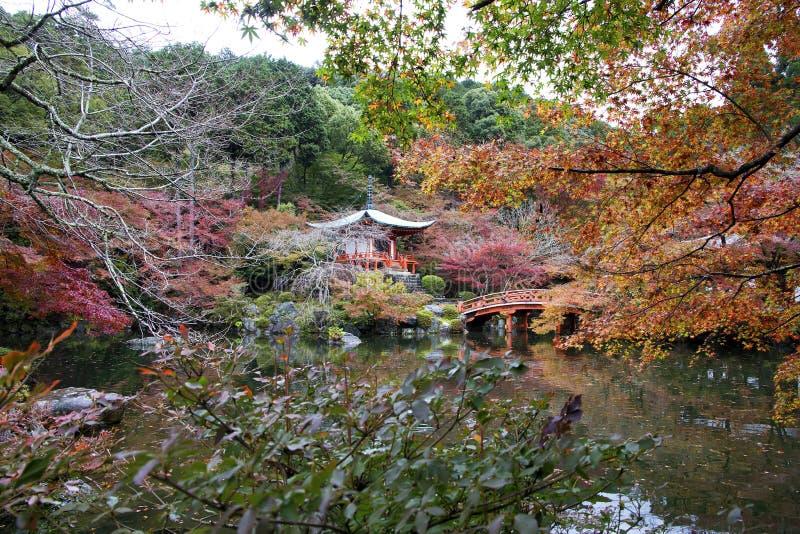 Daigo Ji, Kyoto, Japon images libres de droits