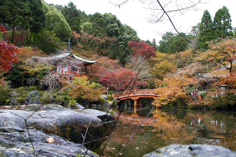 Daigo Ji, Kyoto, Japon photo stock