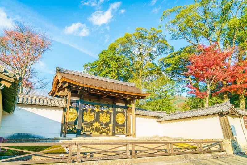 Daigo-ji tempel i höst, Kyoto, Japan royaltyfria foton