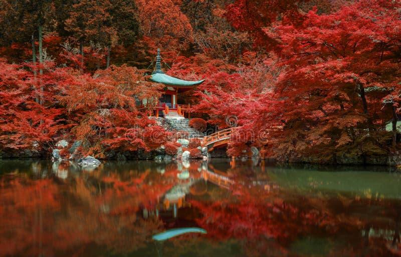 Daigo-ji Tempel, Kyoto stockbilder