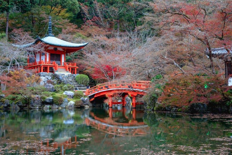 Daigoji świątynia, Kyoto Japonia obrazy stock
