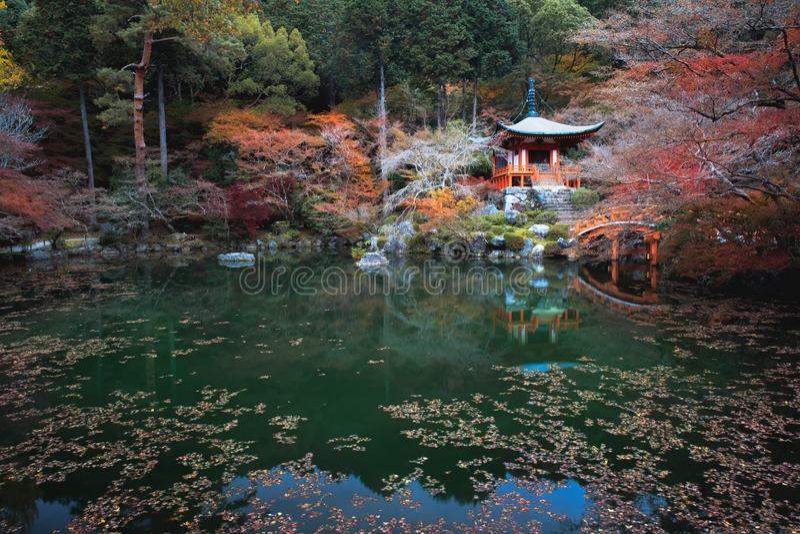 Daigoji świątynia, Kyoto Japonia obraz royalty free