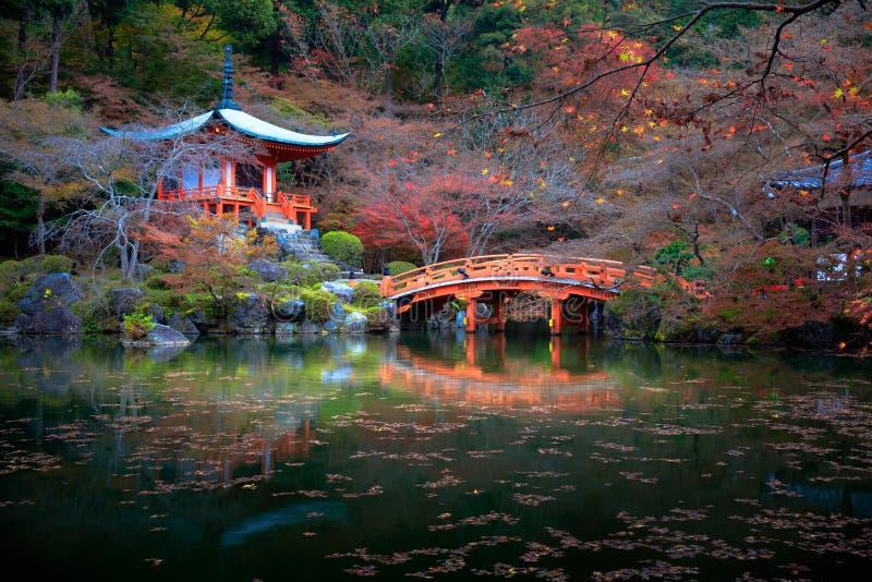 Daigoji świątynia, Kyoto Japonia zdjęcia royalty free