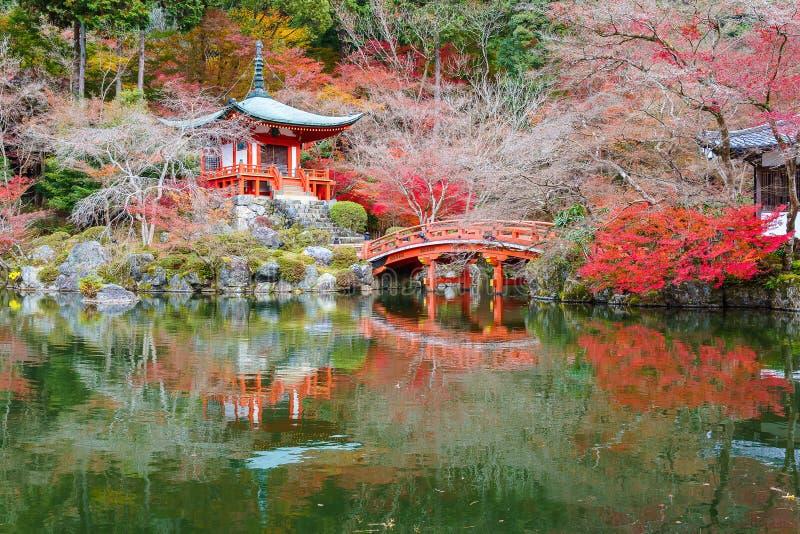Daigoji Buddyjska świątynia, Kyoto, Japonia zdjęcia royalty free