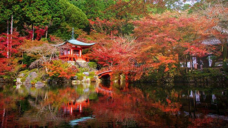 Daigoji tempel, Kyoto arkivbilder