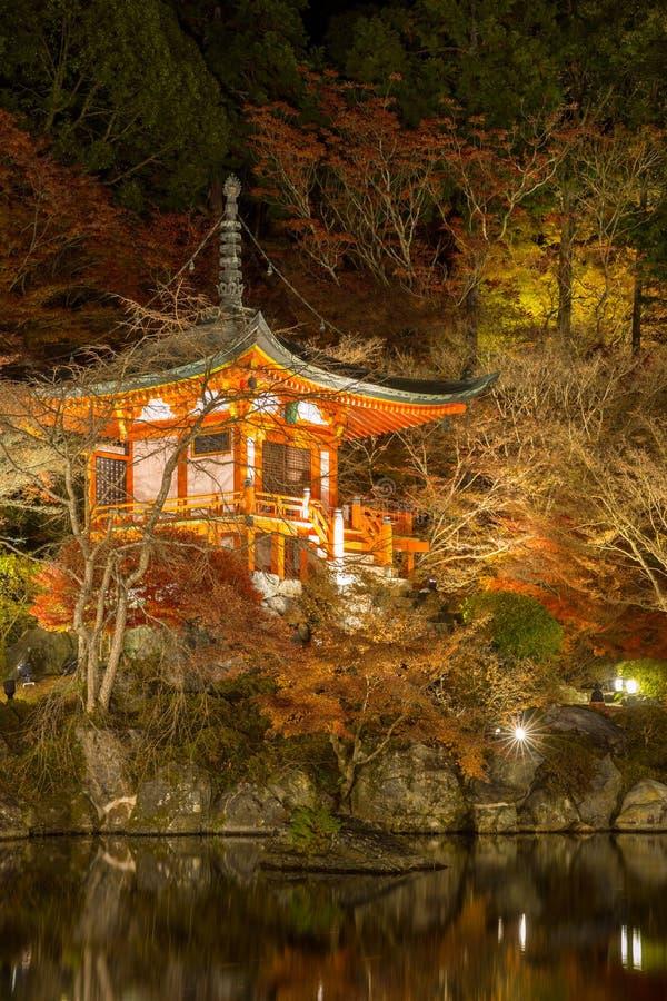 Download Daigoji Temple Kyoto Night stock photo. Image of architecture - 36109846