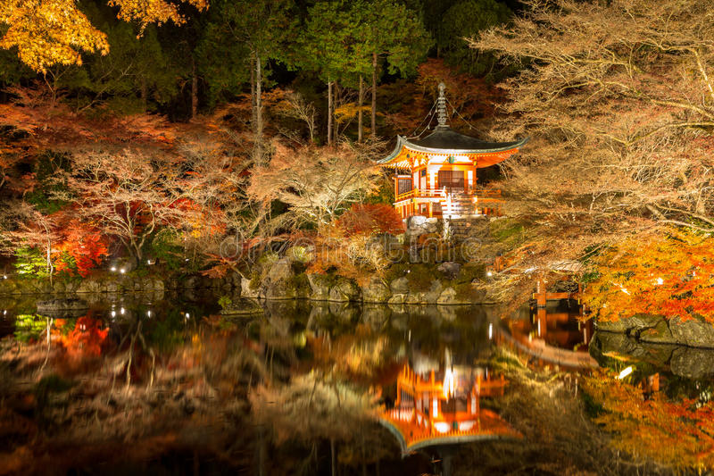 Download Daigoji Temple Night Kyoto stock image. Image of chinese - 38725605