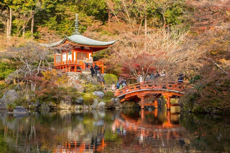 Daigojitempel Kyoto royalty-vrije stock foto