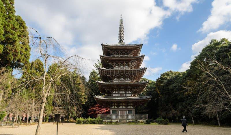 Daigojitempel in Kyoto, Japan royalty-vrije stock fotografie