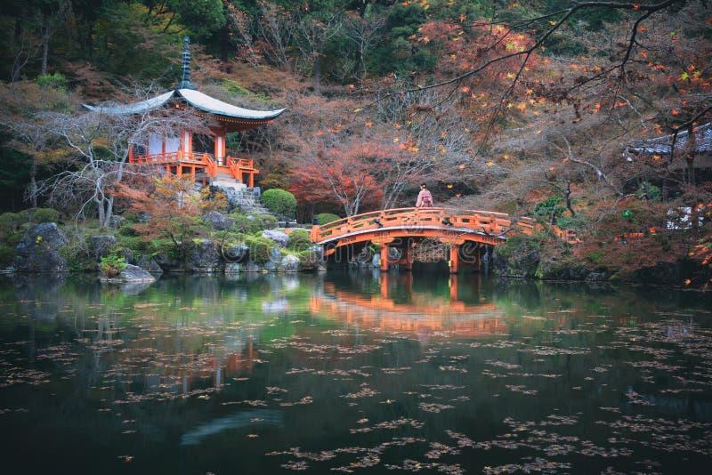 Daigojitempel, Kyoto Japan stock fotografie