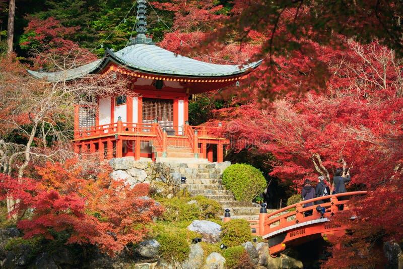 Daigojitempel, Kyoto Japan royalty-vrije stock fotografie