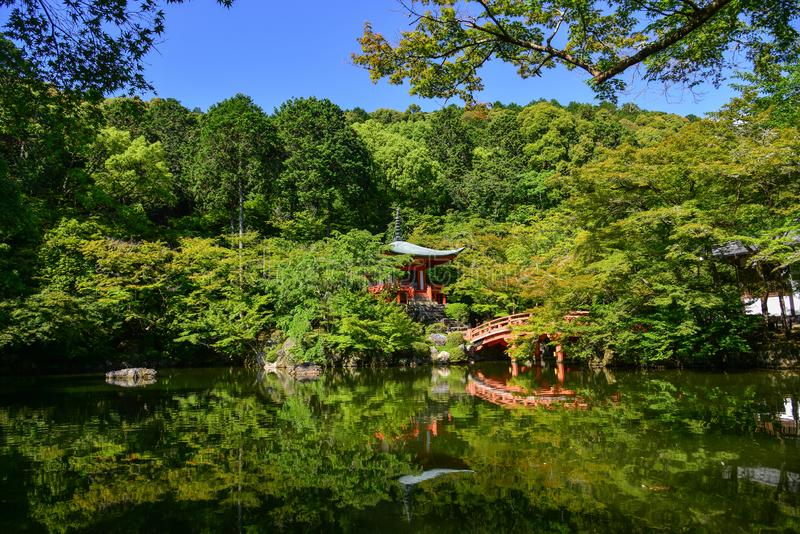 Daigojitempel in Kyoto, Japan royalty-vrije stock afbeeldingen