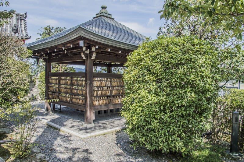 Daigomaku på den Kiyomizudera templet på Kyoto Japan arkivfoton