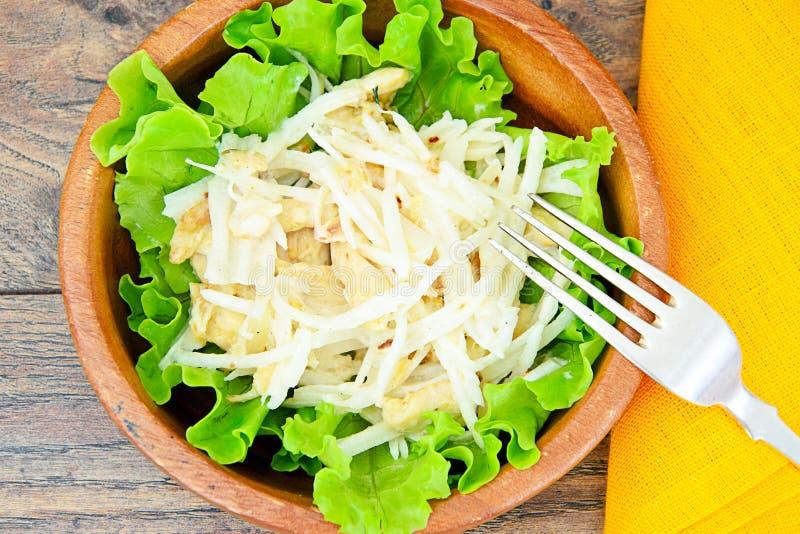 Download 从Daikon和鸡的饮食沙拉 库存图片. 图片 包括有 成份, 美食, 叶子, 沙拉, 增长, 绿色, 背包 - 62531023